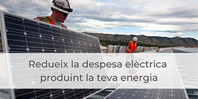 vols posar plaques fotovoltaiques però no saps el seu cost ni com fer-ho