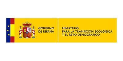 logo ministerio para la transición ecológica y el reto demografico