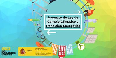 proyecto de ley cambio climático y transición energética
