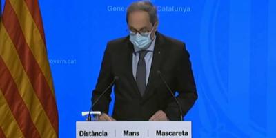 baner govern catalunya transició energètica